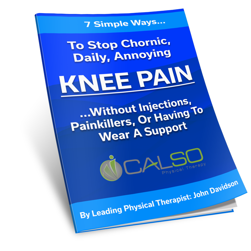 Knee Pain | Calso Physical Therapy